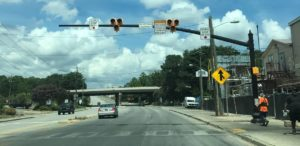 City of West Columbia promotes traffic signal safety on Sunset Boulevard