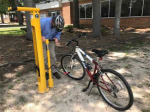 West Columbia welcomes cyclists with 3 bicycle repair stations