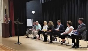 Candidate withdraws at Lexington 2 forum, others introduce themselves