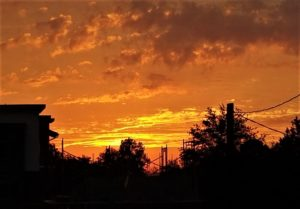 Beautiful sunrise over West Columbia photo gallery