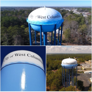 City of West Columbia water tanks in running for Tank of the Year – VOTE