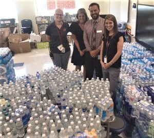 Cayce Elementary Bottled Water Drive collects  10,000 bottles for storm victims