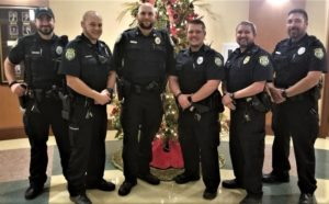 West Columbia Police Department not shaving to raise money to fight cancer