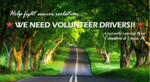 Senior Rides is looking for volunteer drivers in Cayce, West Columbia