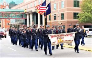 Brookland-Cayce ROTC part of Columbia Veteran's Day Parade