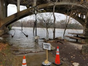 Congaree River is flooding Riverwalk – Video