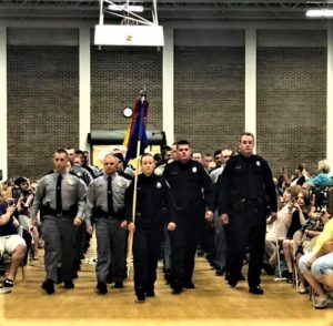 What is required to become a West Columbia Police Officer?