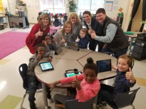 House of Raeford donates headphones for every Cayce Elementary student