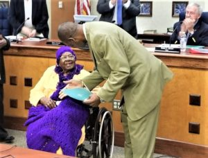 """Rebecca """"Fannie"""" Dawkins turning 102, recognized by City of West Columbia with resolution"""