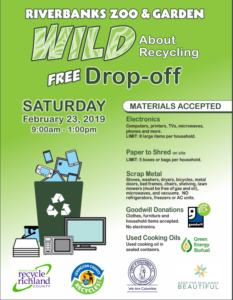 Recycling Drop-Off at Riverbanks Zoo is Saturday