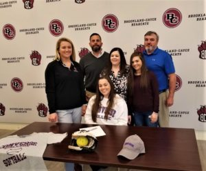 Brookland-Cayce's Lauren Kelly signs to play softball at Converse College