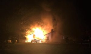 4 people displaced after Lexington County house fire