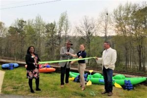 The Palmetto Experience holds ribbon cutting for river meeting facility, Thursday
