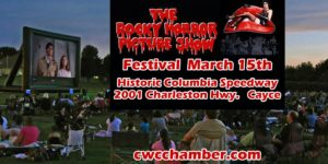 Cayce-West Columbia Chamber presenting Rocky Horror Picture Show, Friday