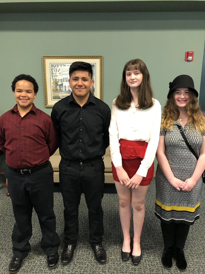 Lexington 2 Junior Scholars recognized at Board meeting