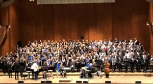 Brookland-Cayce High School Honors Choir performs at Lincoln Center