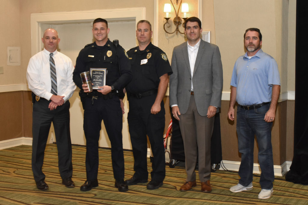 Sgt. Korey Davis, of the WCPD, is Officer-of-the-Month