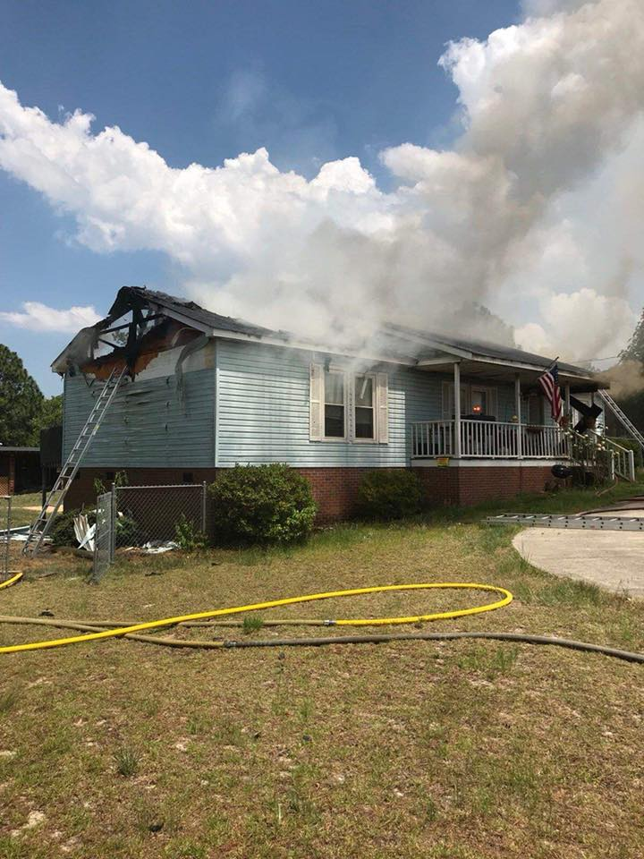4 displaced by Lexington County fire, Saturday