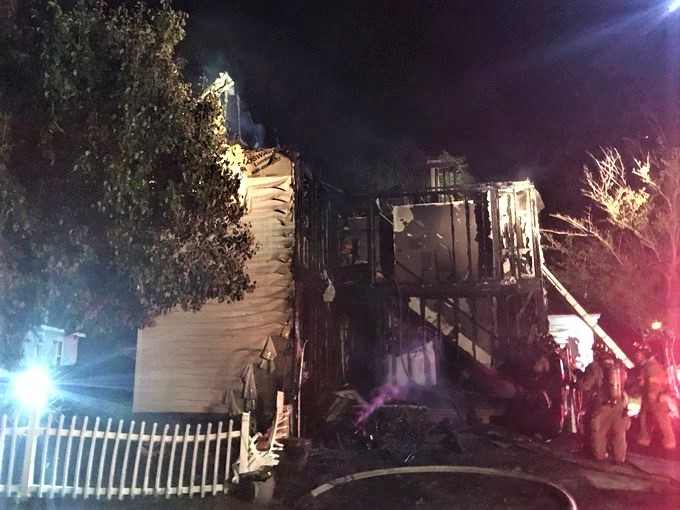 2nd home in 24 hours burns in Planter's Station