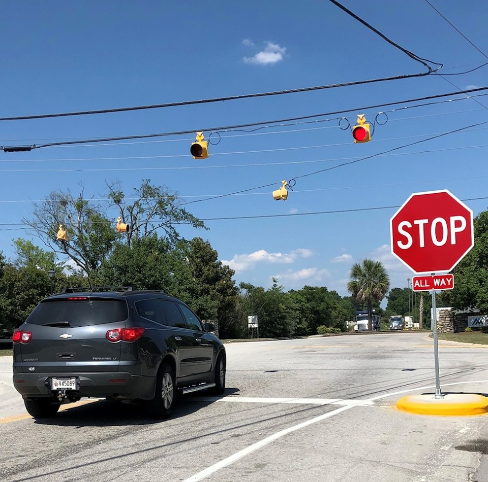 4-Way Stop now at State and Frink streets, in Cayce