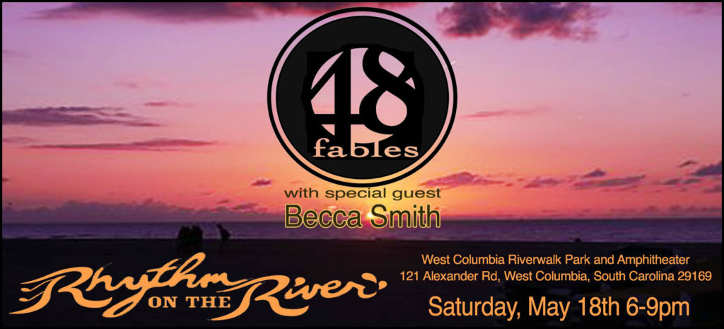 Rhythm on the River is Saturday with 48 Fables and Admiral Radio