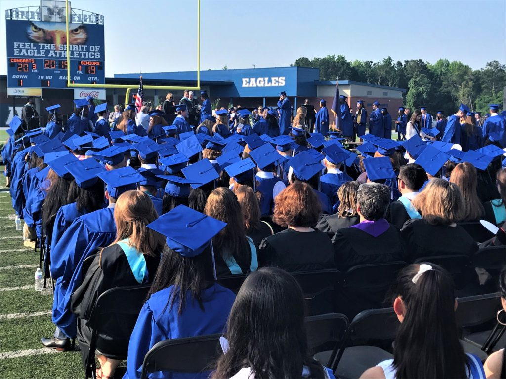Airport High School holds graduation
