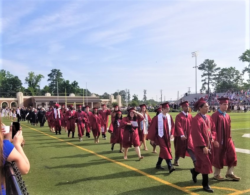 Brookland-Cayce High School's graduation held Friday
