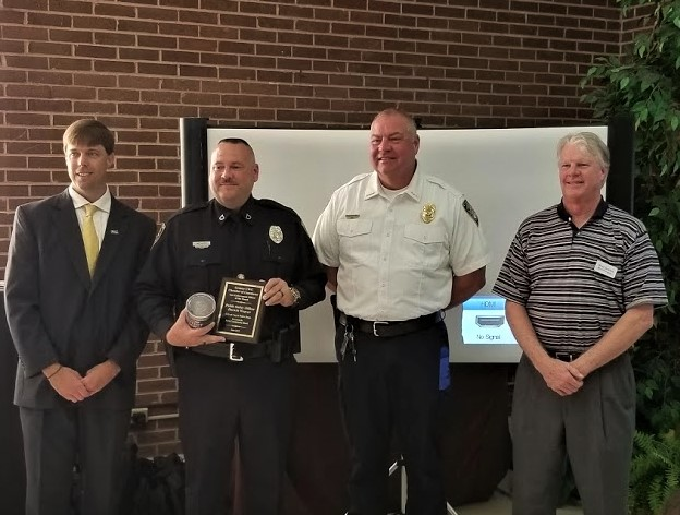 Cayce's Darwin Weaver is Chamber's Officer-of-the-Month