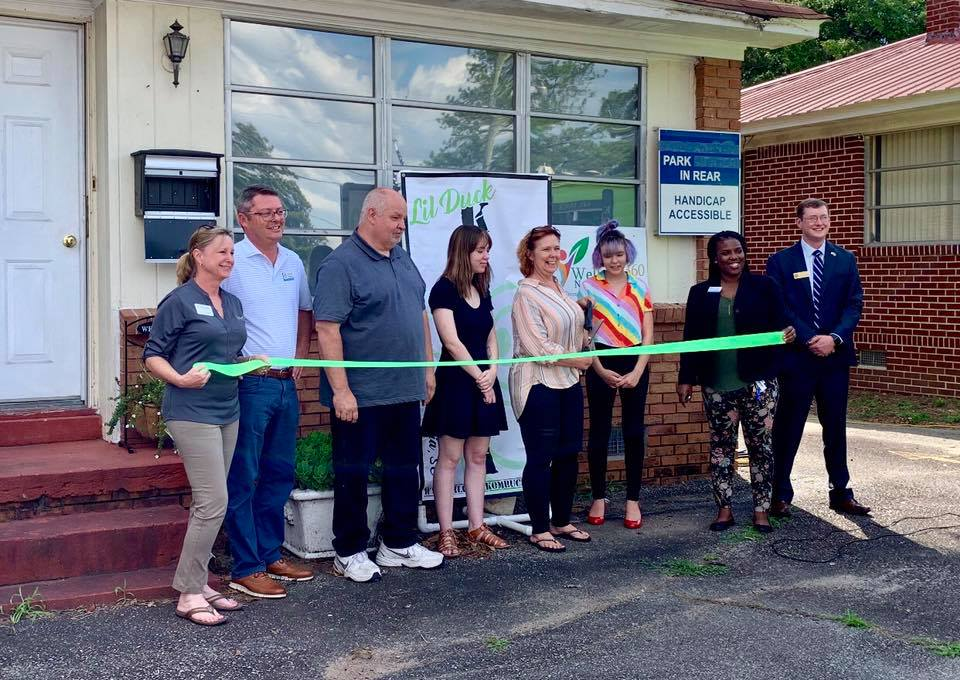 Wellness 360 Holistic Health and Functional Nutrition and Lil Duck Kombucha hold ribbon-cutting in Cayce