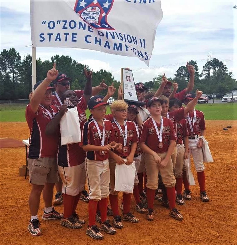 Cayce West Columbia Dixie Youth Baseball team wins State Championship
