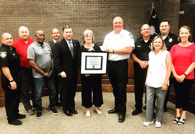 Cayce Public Safety Department earns statewide accreditation