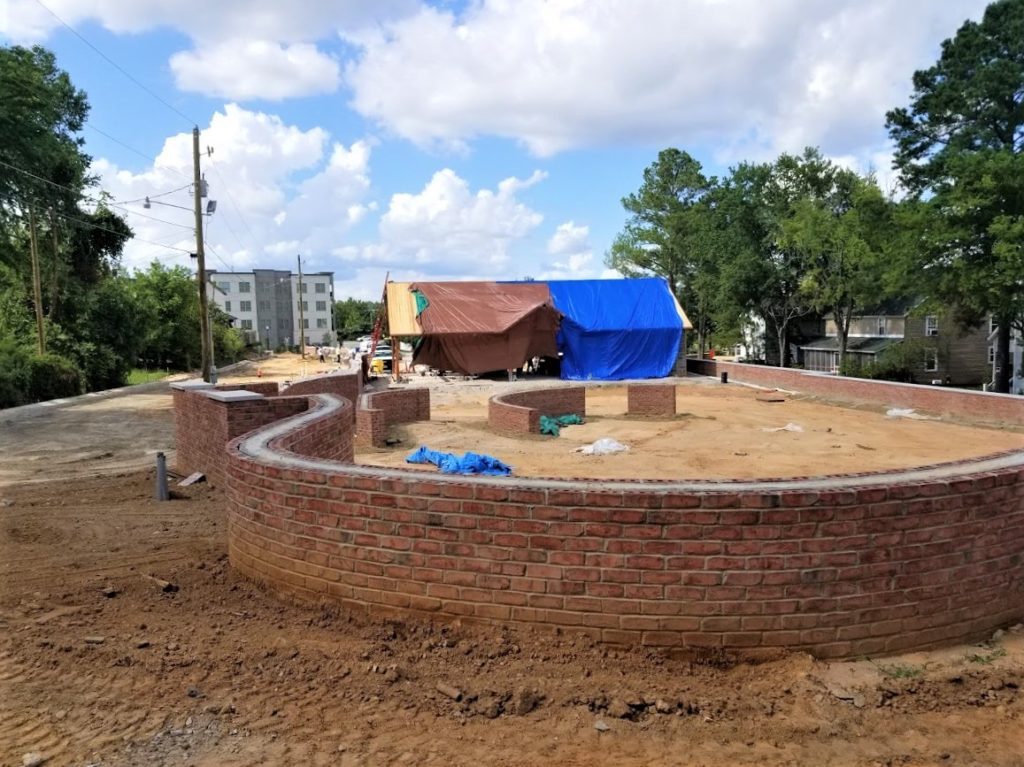 Construction of West Columbia's Enabling Park is progressing