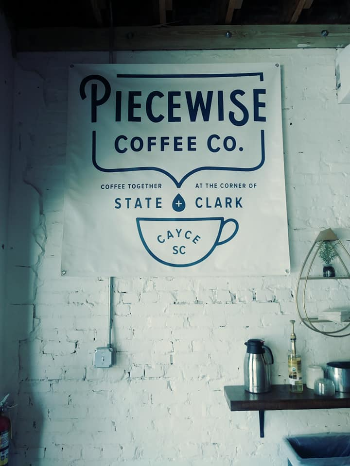 Piecewise Coffee Company has opened on State Street in Cayce