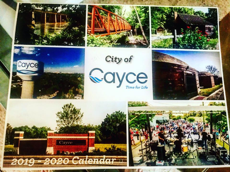 City of Cayce's Calendars for 2019-2020 are available