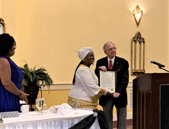 Dr. Shirley McClerklin-Motley recognized at Brookland Baptist