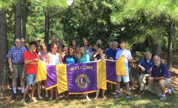 C-WC Lions Club hosts 18 foreign students