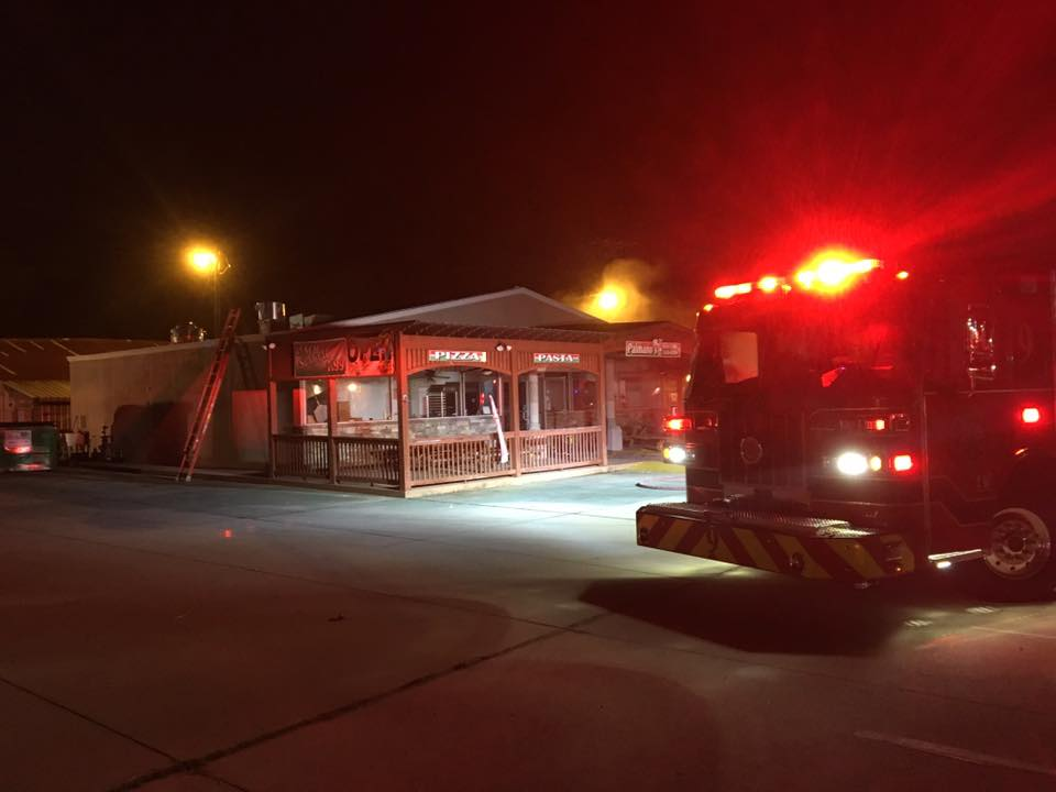 Fire extinguished at Augusta Road pizza restaurant, Friday morning