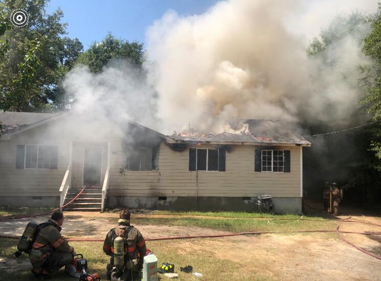 Fire damages home in Lexington County