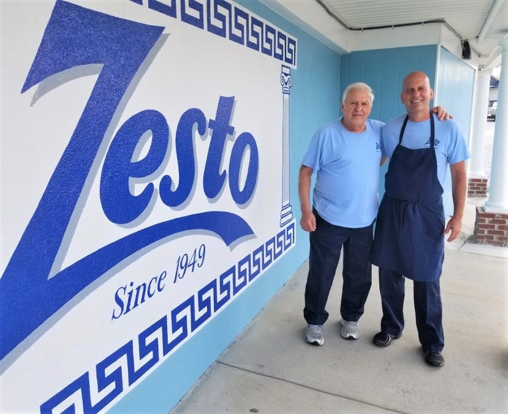 Zesto celebrates 70 years, featured in West Columbia Newsletter