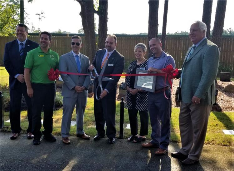 Woodridge Memorial Park holds Ribbon Cutting