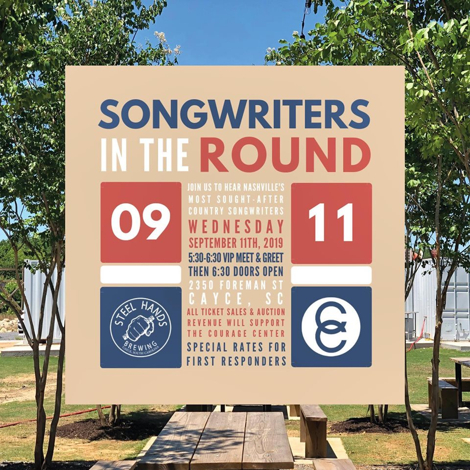 4 top Nashville songwriters at Steel Hands Brewing Wednesday