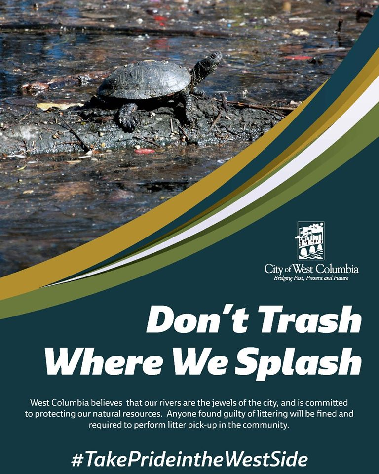 West Columbia introduces Take Pride in the West Side anti-litter campaign