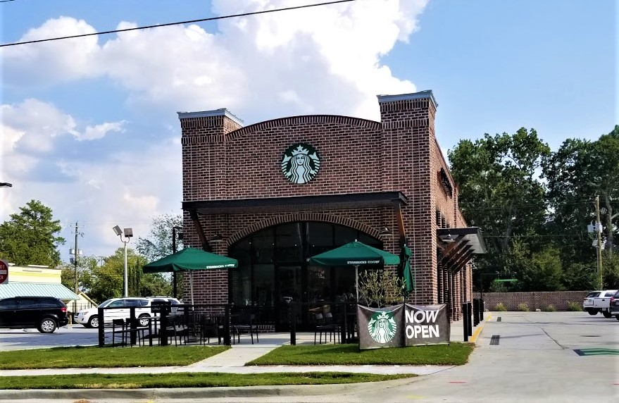 Cayce Starbucks is open