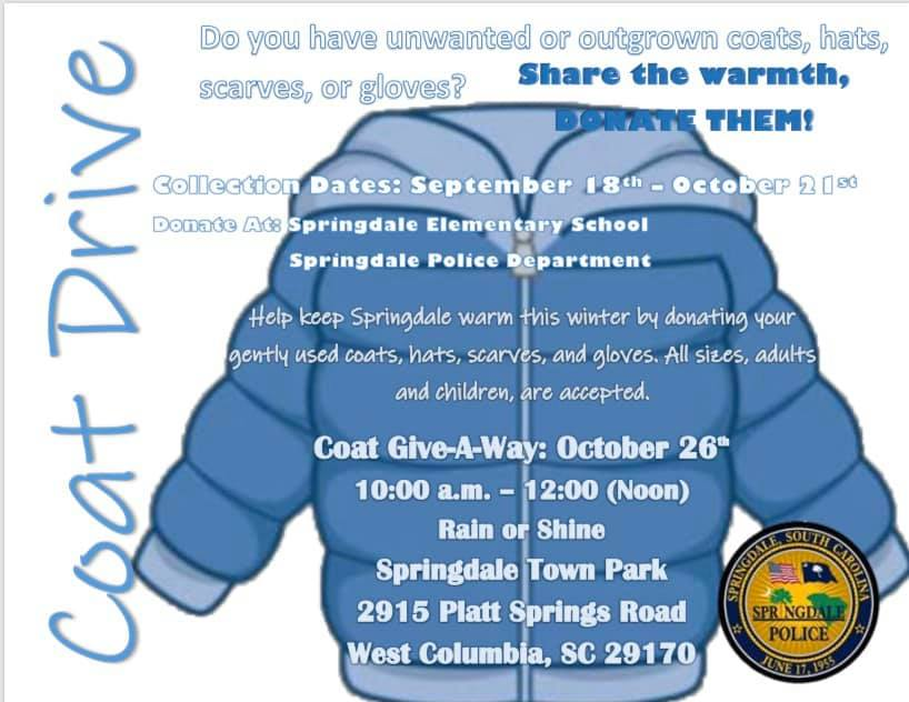 Springdale Police conducts coat collection,coat-giveaway