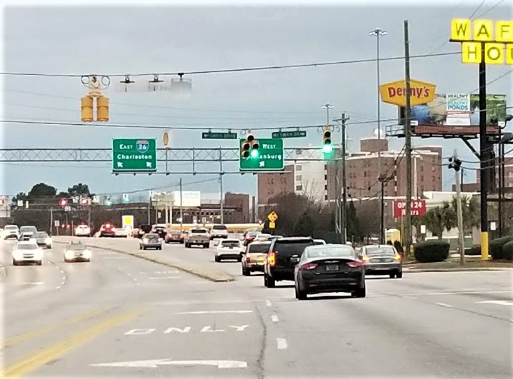 Traffic-light system being upgraded on Sunset Boulevard in West Columbia, to monitor traffic flow