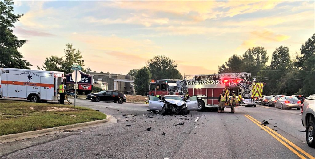 Failure to yield the right-of-way causes Sunset Blvd. crash, says Lexington Police