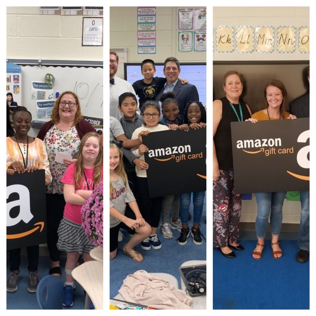 House of Raeford's FLOCK gives teachers $350 Amazon gift cards as a reward for their dedication