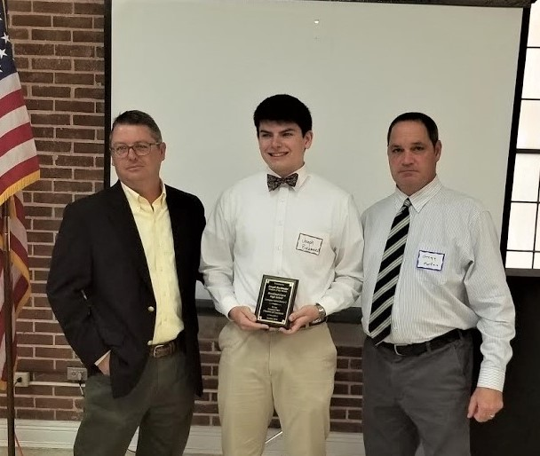 Brookland-Cayce's Joseph Buchmaier is Chamber's Student-of-the-Month