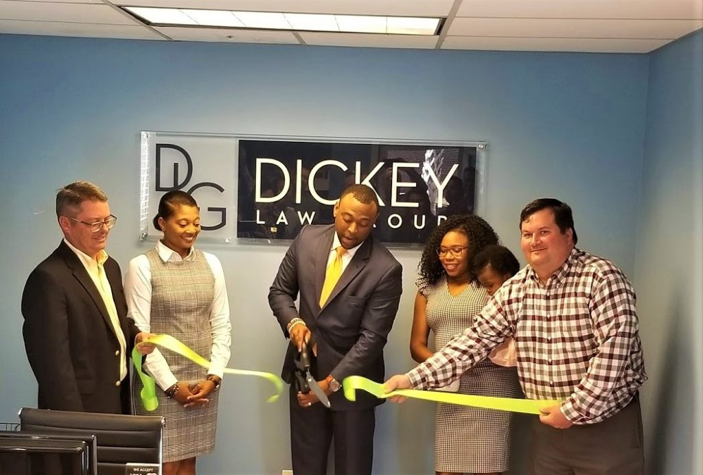 The Dickey Law Group cuts the ribbon on new West Columbia office