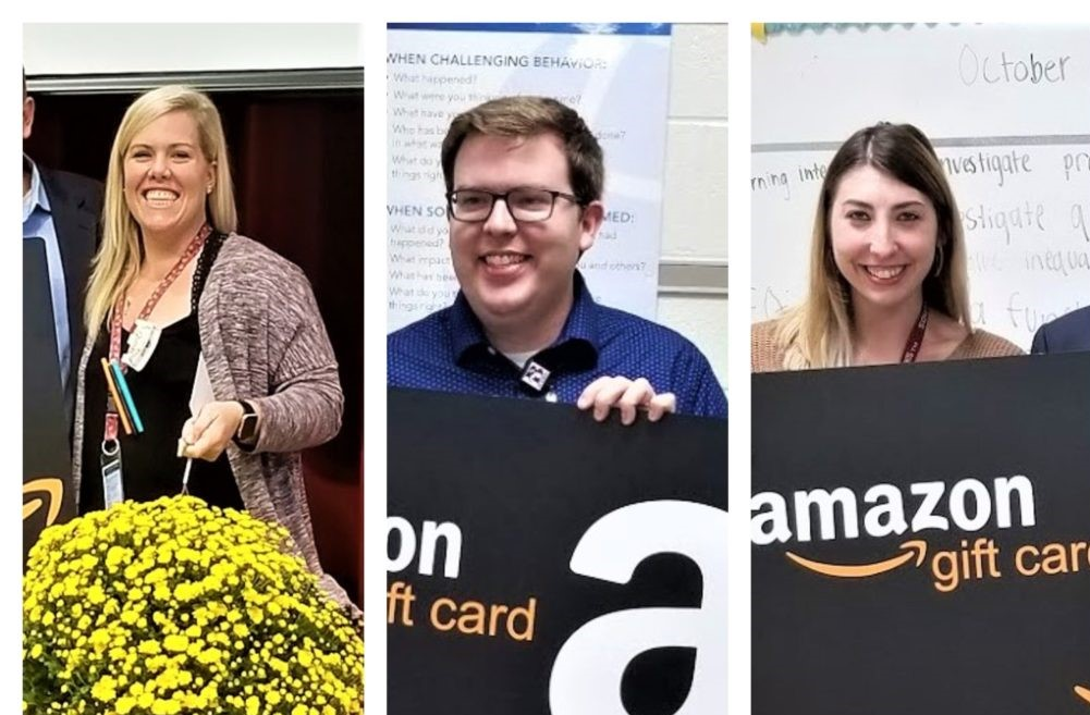 House of Raeford's FLOCK gives teachers Amazon gift cards to recognize good job